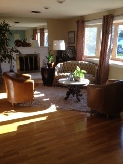 re-upholster or replace eclectic-family-room