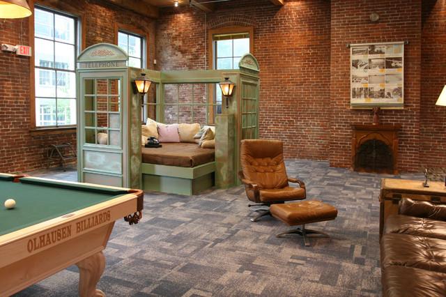 Real World Portland - Industrial - Wohnzimmer - Portland - von Jen ...