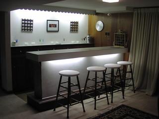 Redesigned Art Decor-Inspired Bar