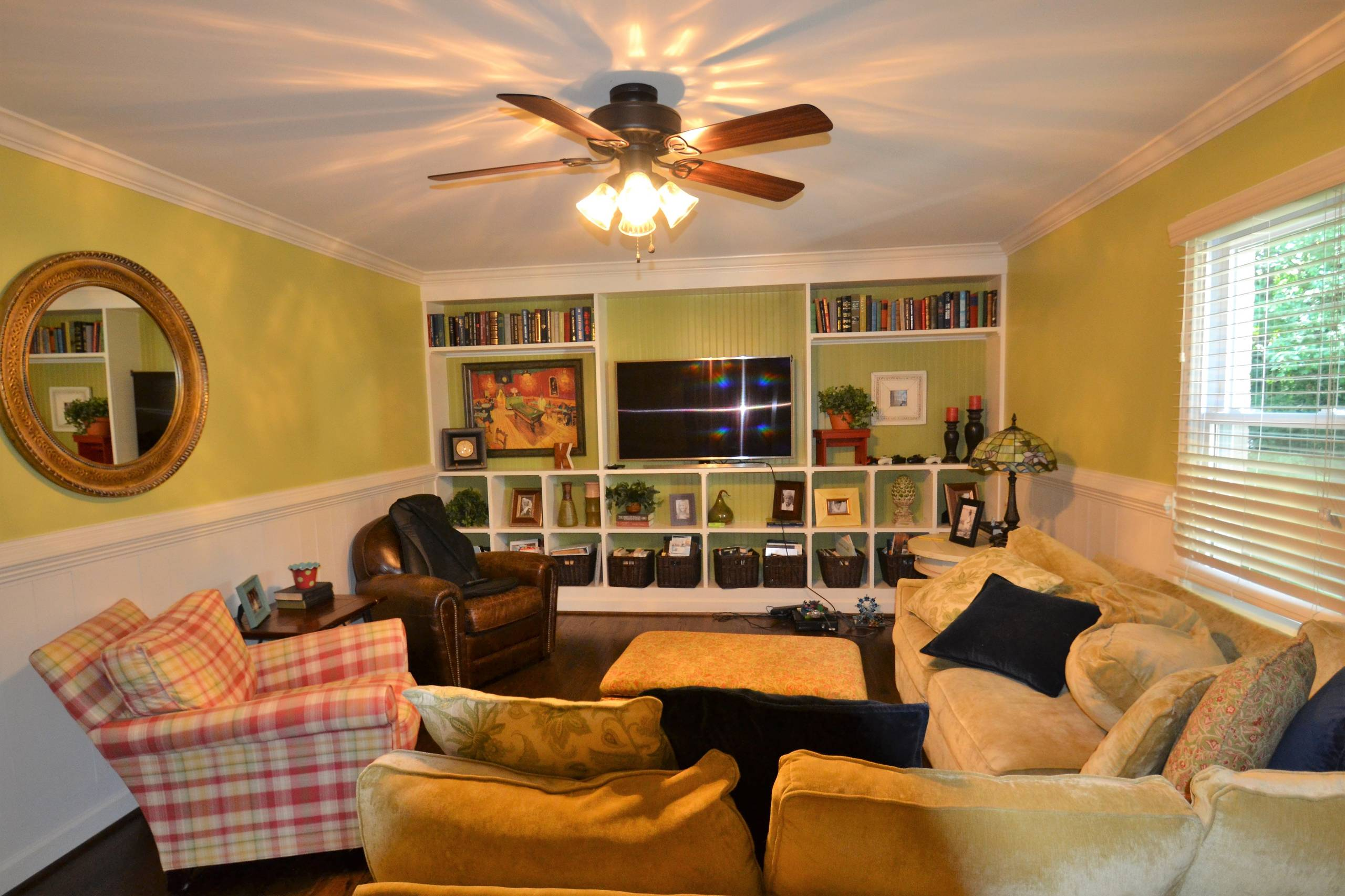 Redesigned Family Room