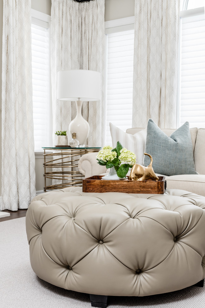 Refined Casual Living Room Transitional Family Room Toronto By Endless Ideas Interiors Inc