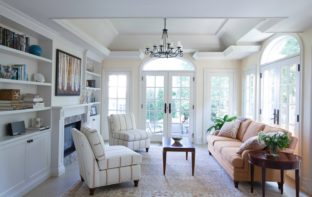 Reigate Rd. 22 - Traditional - Family Room - toronto - by Ph.D. Design Inc.