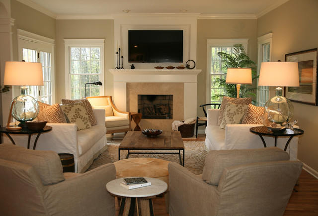Reiglesville Family Home traditional-family-room