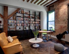 Reiko Feng Shui Interior Design - Loft renovation industrial-family-room