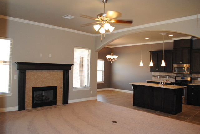 Remington Plan- The Grove traditional-family-room