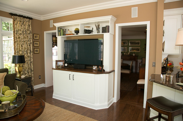 Remodel & Addition in Ladue traditional-family-room