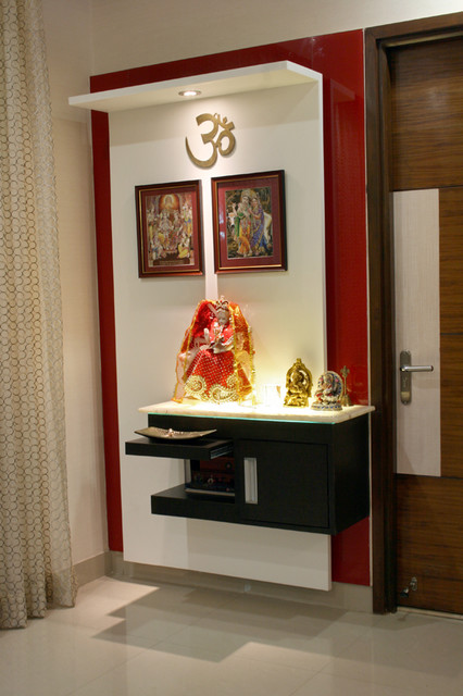 Residence In Hyderabad Indian Family Room