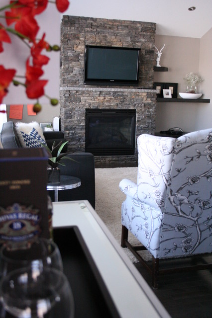 Residential client-Styling contemporary-family-room