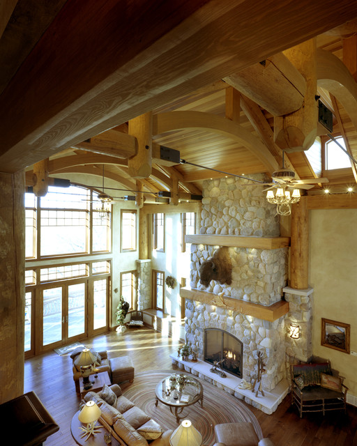 Residential projects in Wisconsin traditional-family-room
