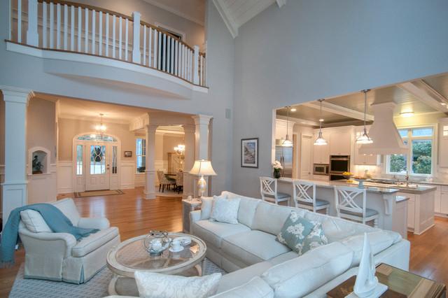 Restful Retirement beach-style-family-room