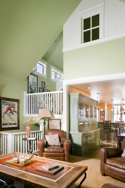 Rhubarb - Crested Butte traditional-family-room