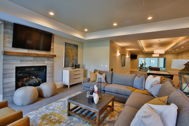 Rideout Residence transitional-family-room