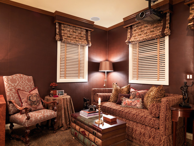 """Ridges Home"" traditional-family-room"