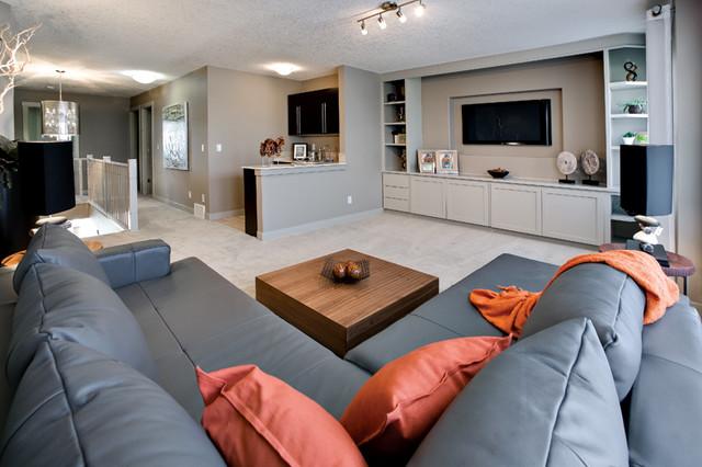 Rio II contemporary-family-room