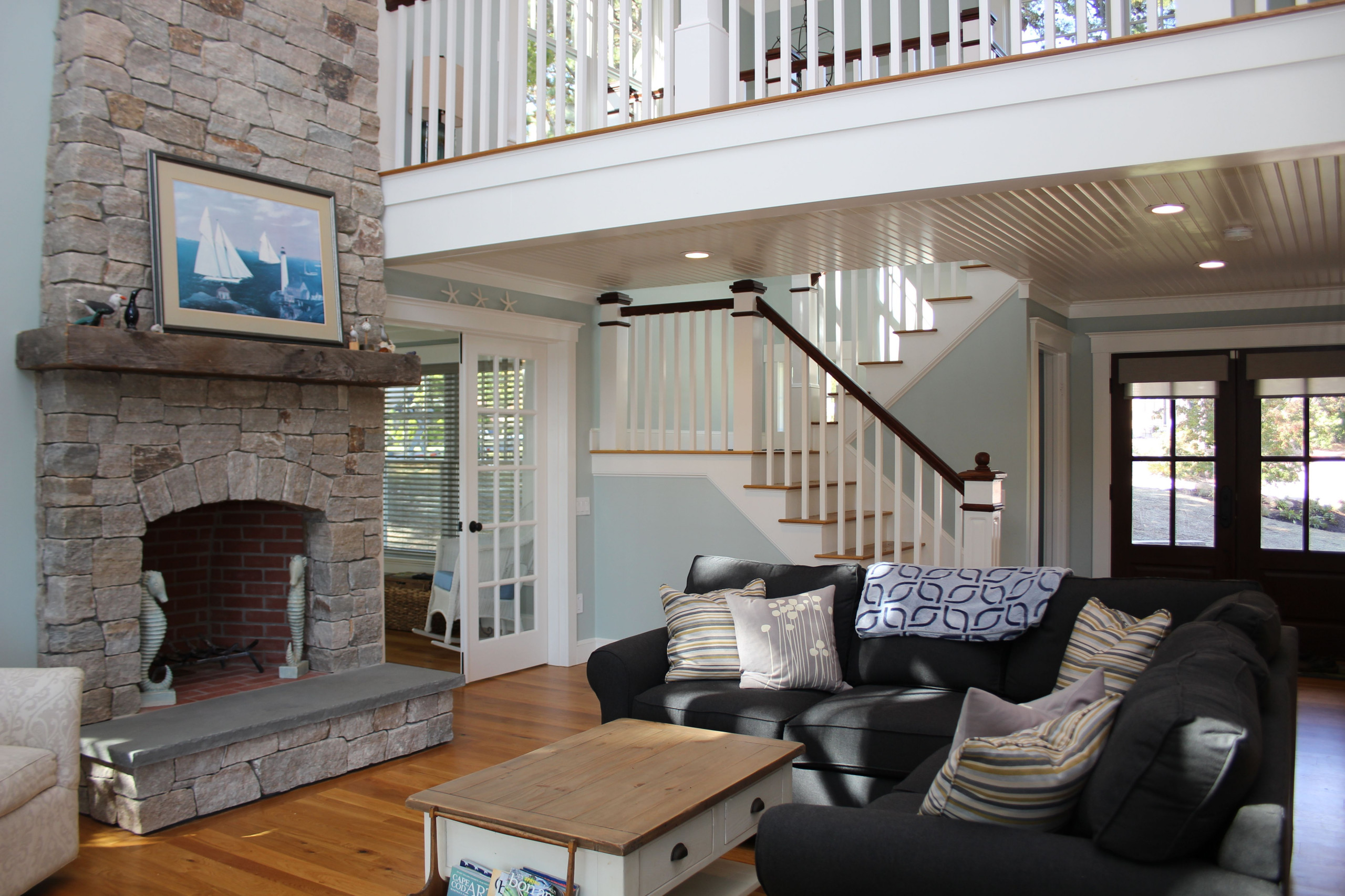 River front Shingle Style home