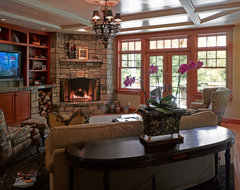 River House traditional family room