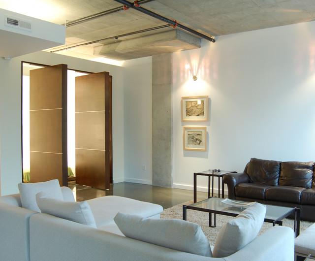 river market condo modern-family-room
