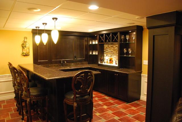 Rizk Basement traditional-family-room