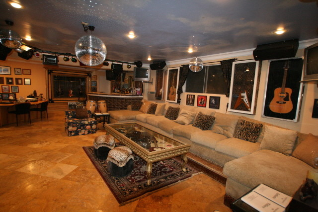 Rock N Roll Custom Furniture Eclectic Family Room Los Angeles