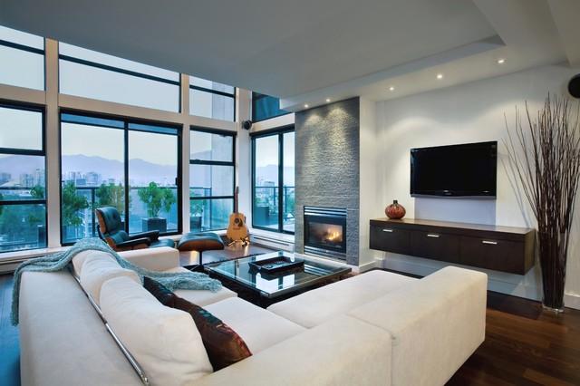 Rockstar Retreat Living Room Contemporary Living Room