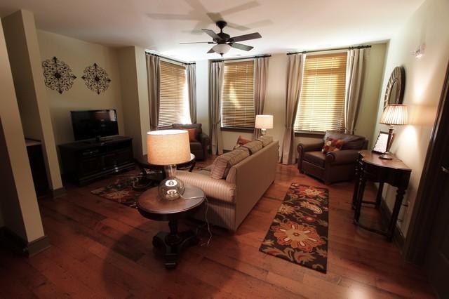 Ronald McDonald House Charlotte traditional-family-room