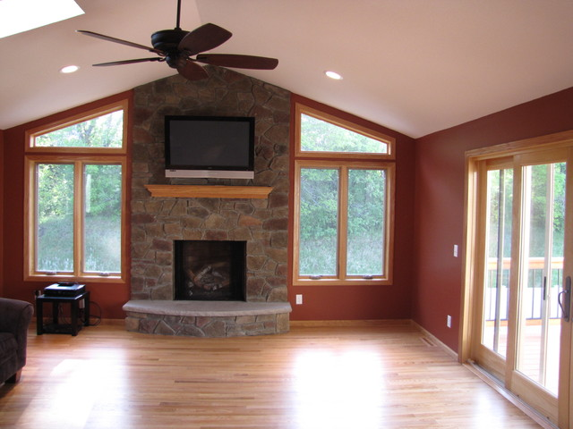 Rosemount 4 Season Porch With Deck Traditional Family Room