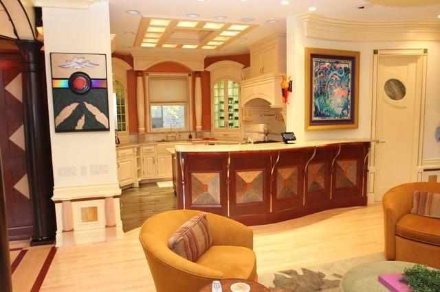 Rosen/Reitz eclectic-family-room