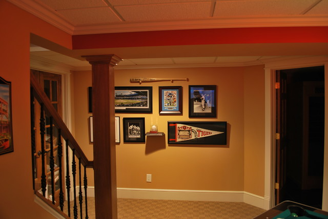 Rouls Basement traditional-family-room