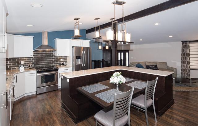 Rude contemporary-kitchen