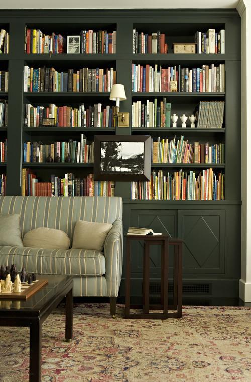 zielona biblioteczka