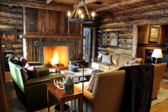Family Room - Rustikal - Wohnzimmer - Sonstige - von Peace Design