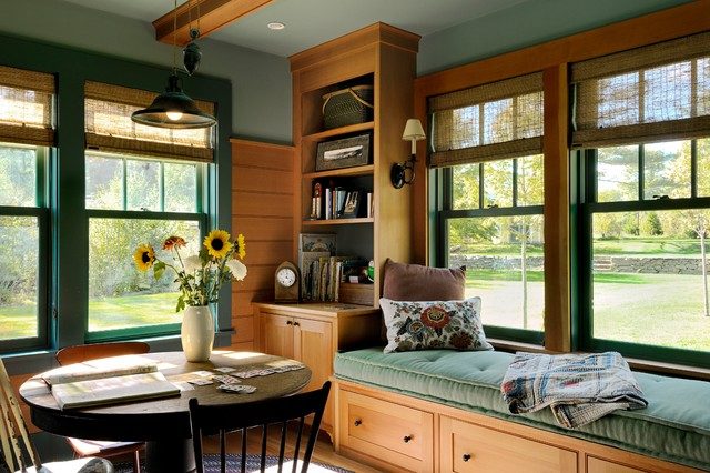 Summer Lake House rustic-family-room
