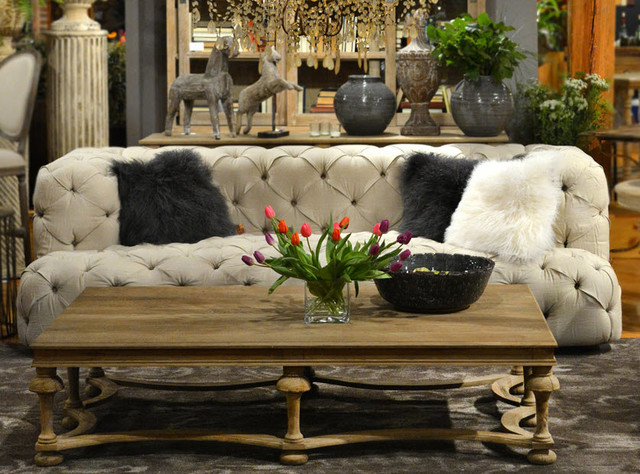 Rustic Luxe Furniture Family Room