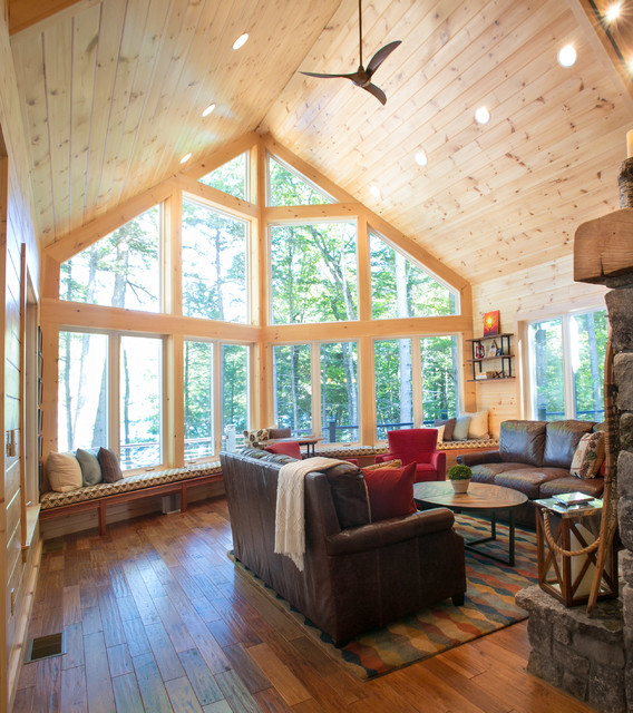 Rustic Lake House Decorating Ideas Rustic Lake House: Rustic Maine Lake House