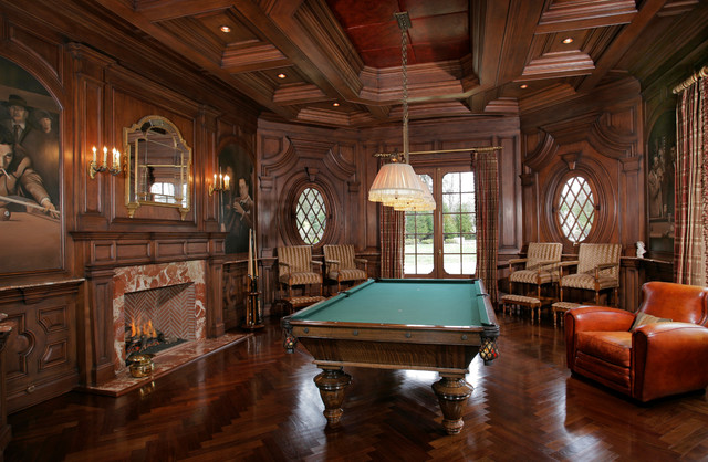 Saddle River, NJ Estate traditional-family-room
