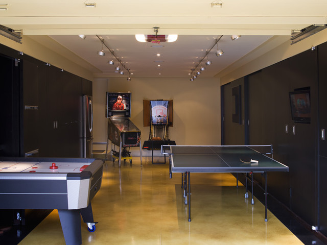 garage game room decorating ideas
