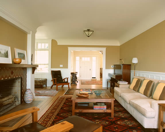 Gast Architects: Projects traditional family room