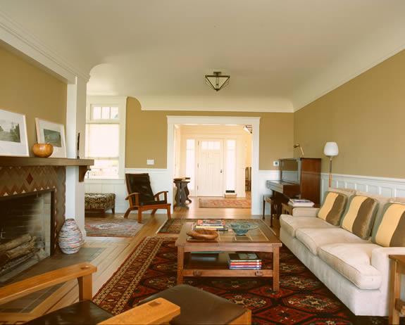 San Francisco Shingle Style traditional-family-room