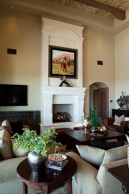 Santa Barbara Great Room traditional-family-room