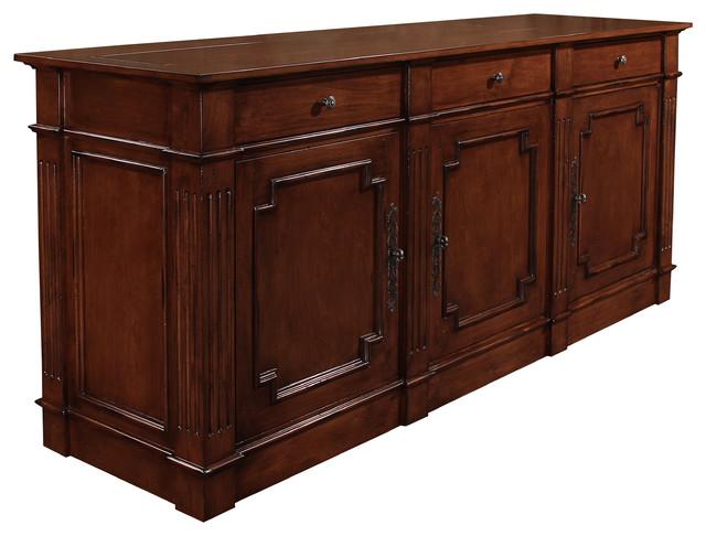 santa fe 3 door tv lift cabinet by best of houzz 2014. Black Bedroom Furniture Sets. Home Design Ideas
