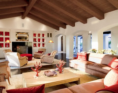 Santaluz Home mediterranean family room
