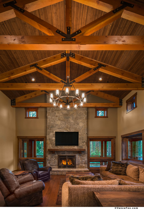Are These Cedar Beams And Regardless What Stain Color