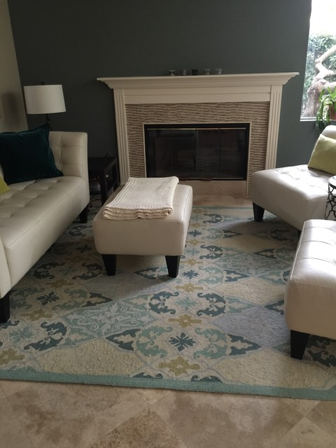 Scripps Ranch Paint Color And Furniture Update Transitional