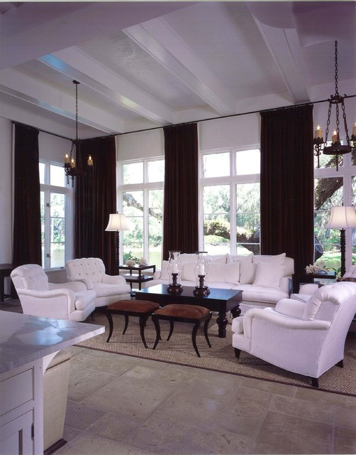 Sea Island, GA mediterranean family room