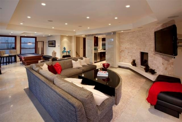 Various Residential Projects contemporary-family-room