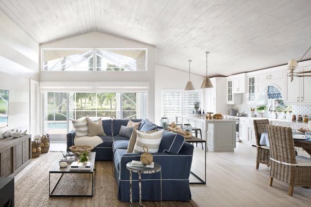 Attractive Lisa Michael Interiors · Interior Designers U0026 Decorators. Seaside Cottage  Beach Style Family Room