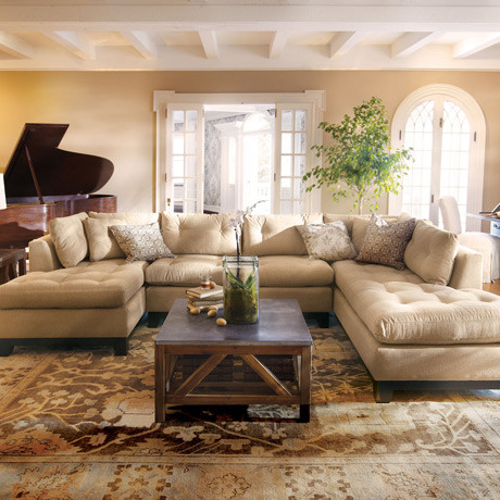 Sectional Traditional Family Room