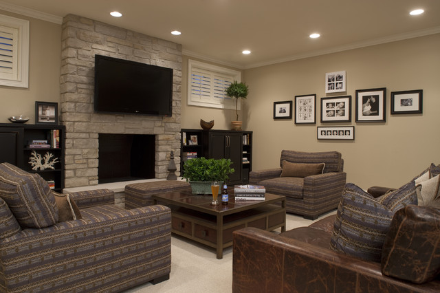 Seeley Media Room contemporary-family-room