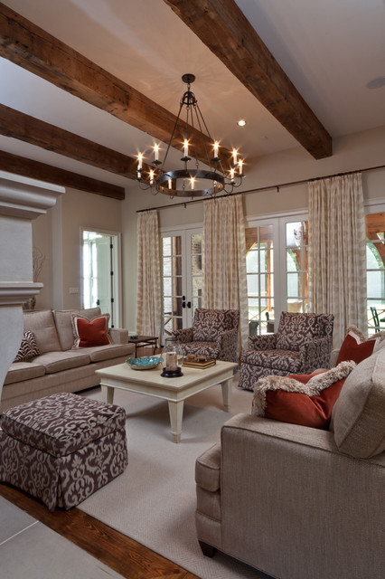 Shady Grove Family Room traditional-family-room