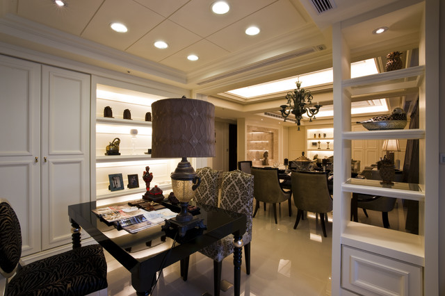Shaker Interior Design Contemporary Family Room Other